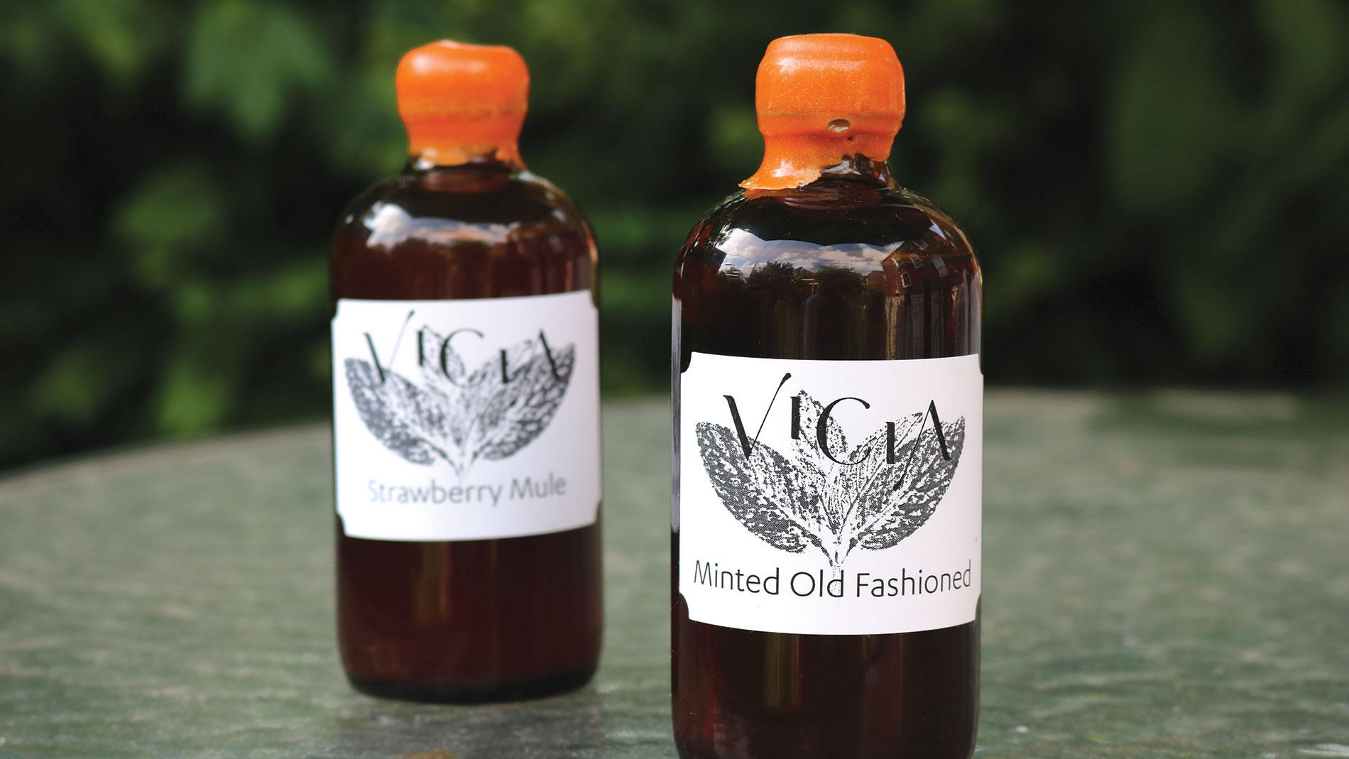 vicia bottled cocktails