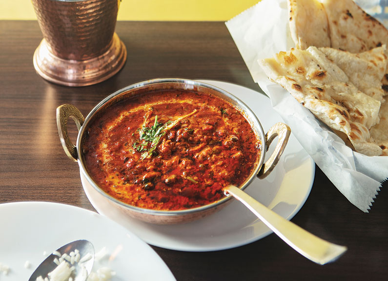 dal makhani at khanna's desi vibes in st. louis