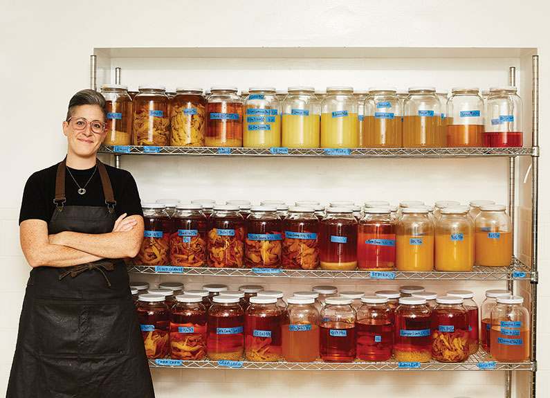 Meredith Barry, head of beverage development at Niche Food Group in st. louis