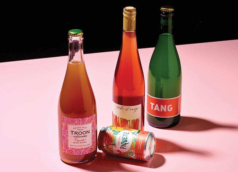 piquette, a light, fizzy, low-abv beverage