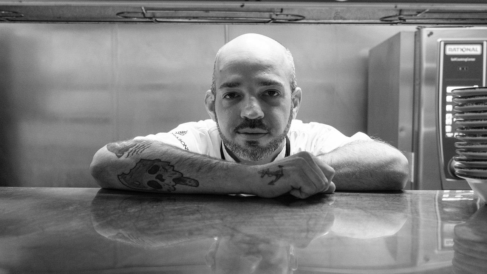 cinder house chef de cuisine peter slay