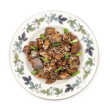 Sichuan Eggplant with Pork