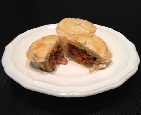 Edward Lee's Curry Pork Pies