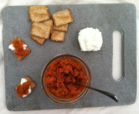 Spiced Carrot Jam