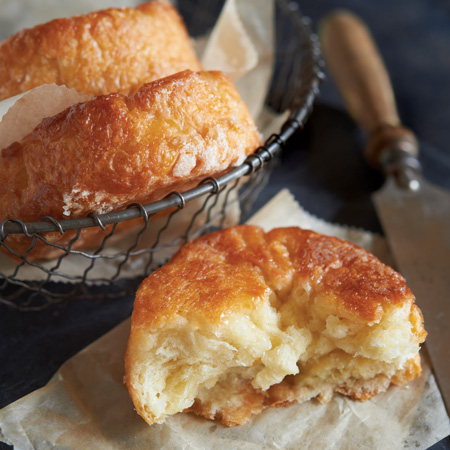 Salted Caramel Croissants (<i>Kouign-amann</i>)