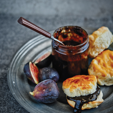Balsamic Fig Jam with Honey and Black Pepper