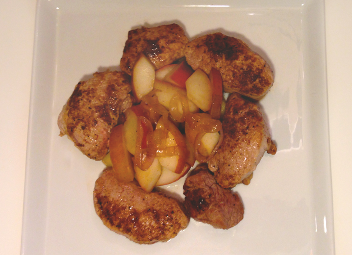Pork Medallions with Pears