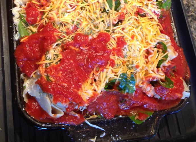 Twisted Gluten-Free Vegetable Lasagna