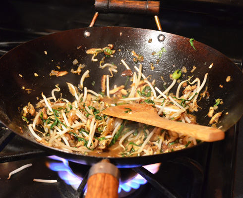 Vegetable Bao Bun Filling