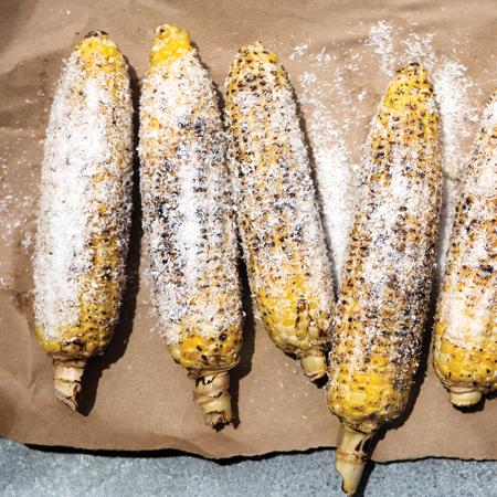 Jamaican  street corn