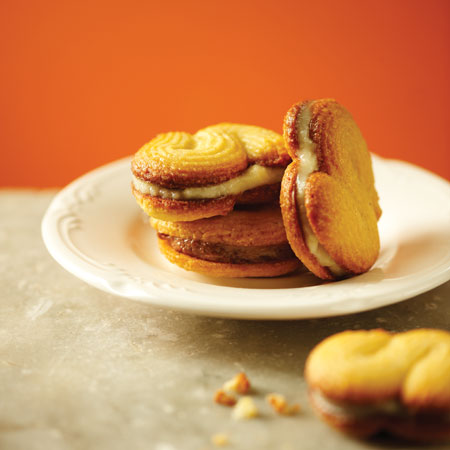 Lemon-Lime Polenta Sandwich Cookies