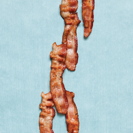 Bacon Bagels