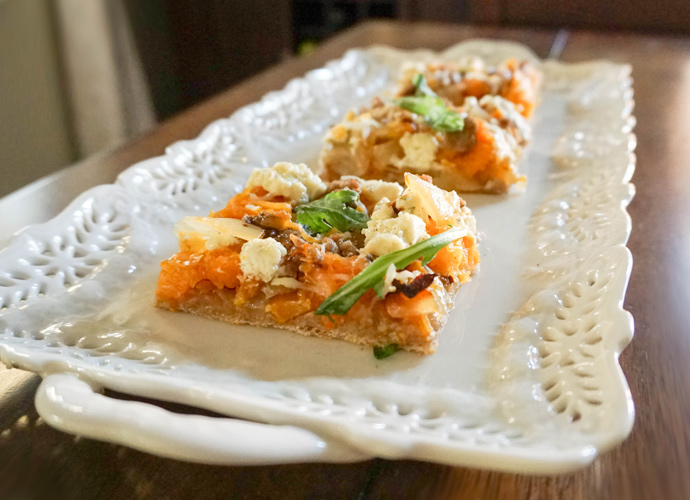 Baked: Butternut Squash Pizza