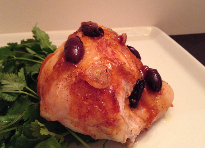 Just Five: Moroccan Chicken