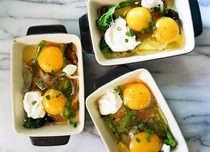 Baked: Eggs en Cocotte