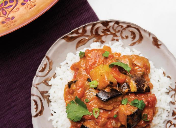 Meatless Monday: Vegan Eggplant Tikka Masala