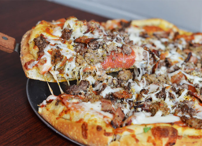 pizza from the sliced pint on washington avenue