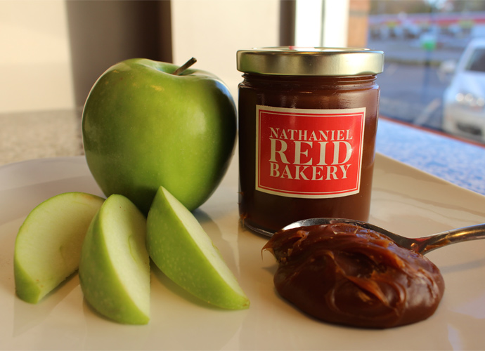 Spiced Caramel Spread sold at the Nathaniel Reid Bakery in Kirkwood