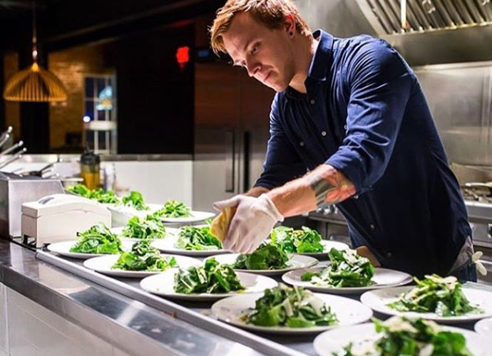 chef josh charles of element heads to blood & sand
