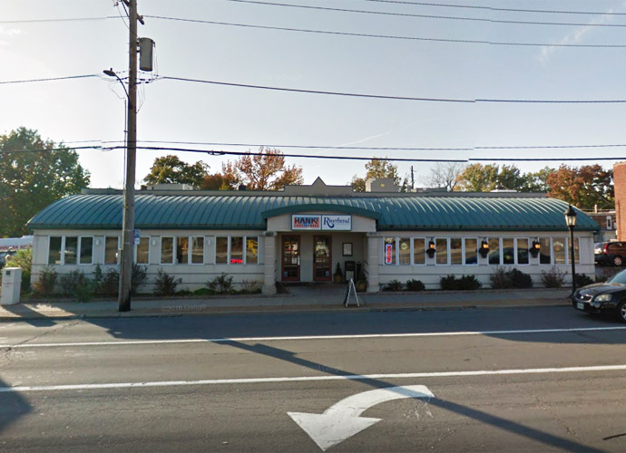 the exterior of Riverbend Restaurant & Bar in Richmond Heights