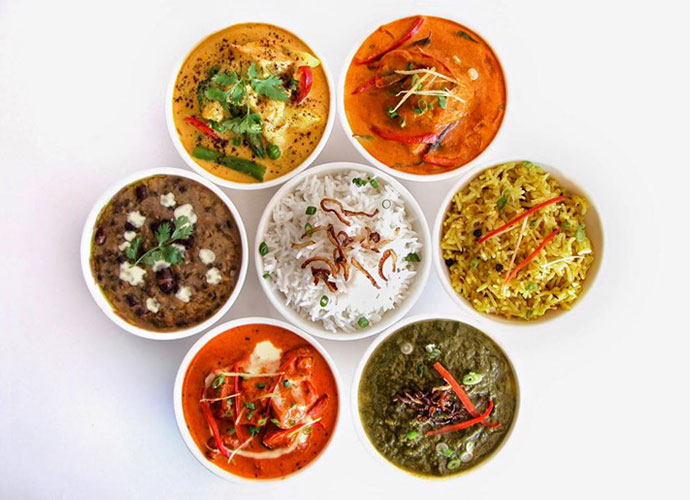 cuisine from spice of india in olivette