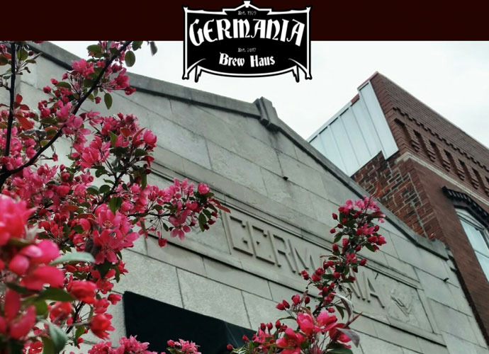 germania brew haus in alton, illinois