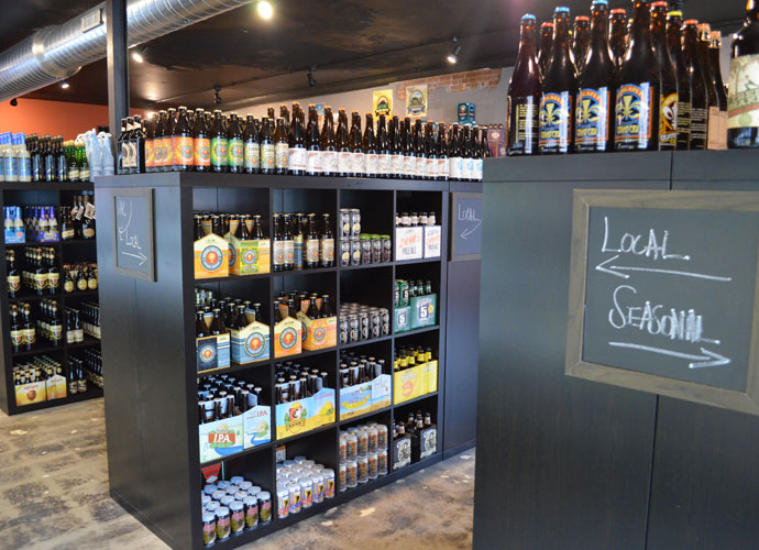 craft beer cellar in clayton