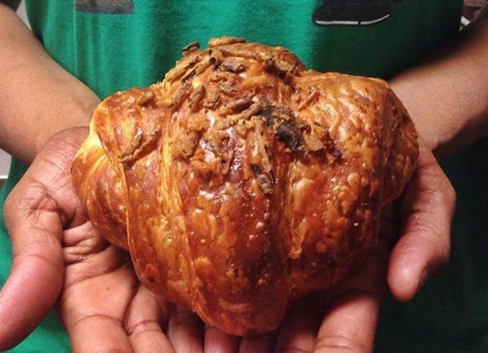 turducken croissant at la patisserie chouquette in st. louis