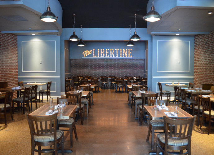 The Libertine closes early January 2018.