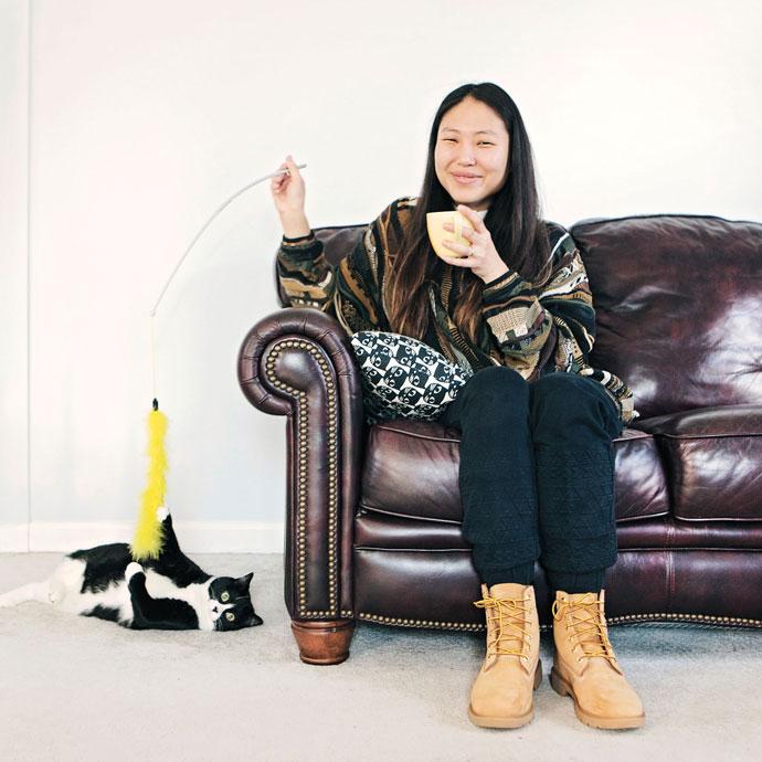 Vista Ramen Line Cook Hana Chung