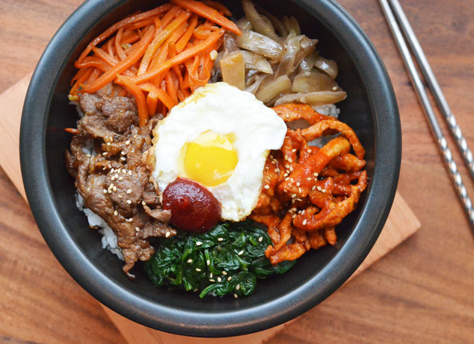 Bibmibap from VP Square in South Grand