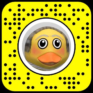 Captain Duck Snapcode