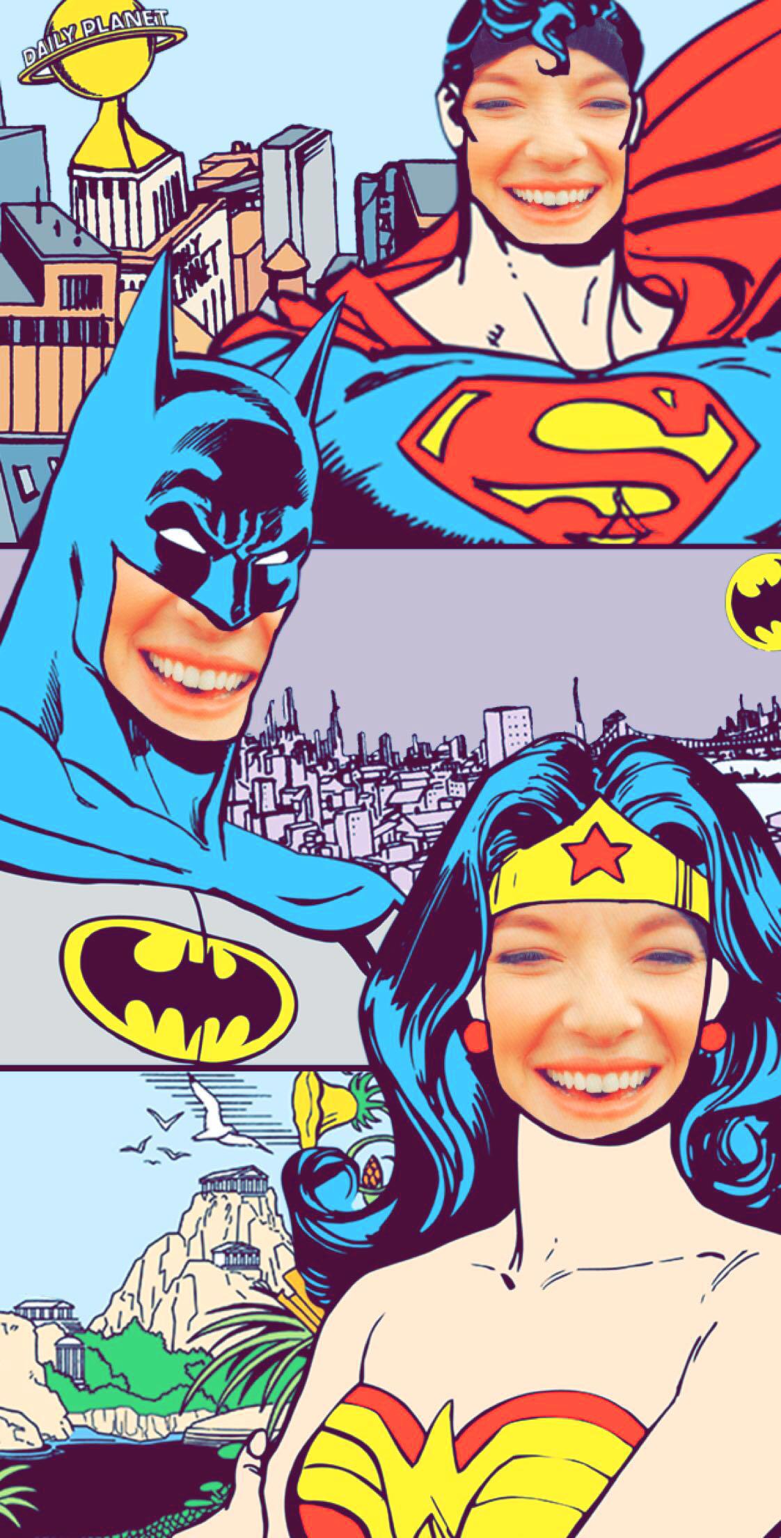 DC Heroes FaceSwap Thumbnail
