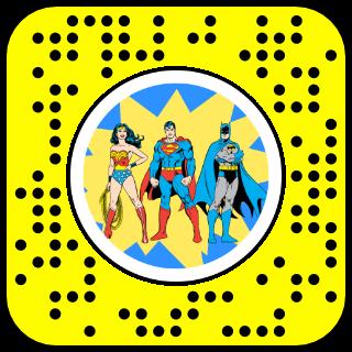 DC Heroes Snapcode
