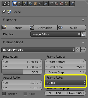 Blender | Frame Rate