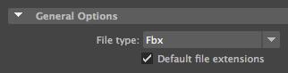 FBX Type