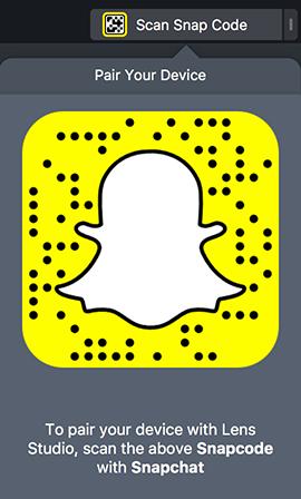 Pair to Snapchat