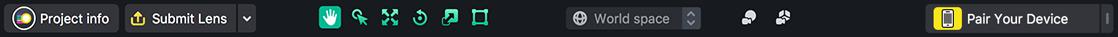 Toolbar and Shortcuts