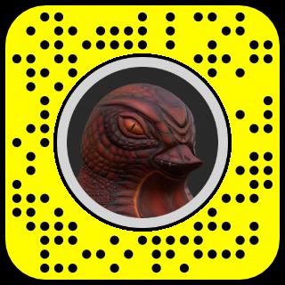 Rubber Dragon Snapcode