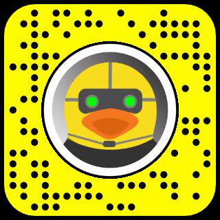 Secret Agent Ducky Snapcode