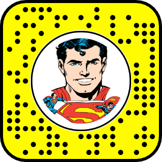 Superman Face Snapcode