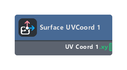 Surface UVCoord 1