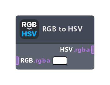 RGB to HSV