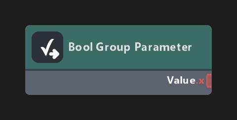 Bool Group Parameter