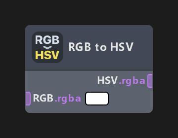 RGB to HSV
