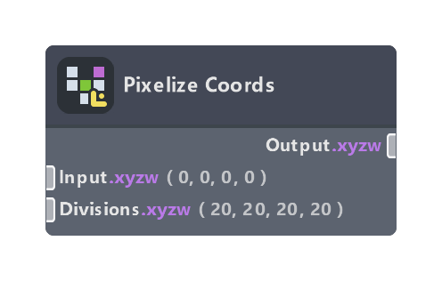 Pixelize Coords