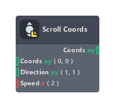 Scroll Coords