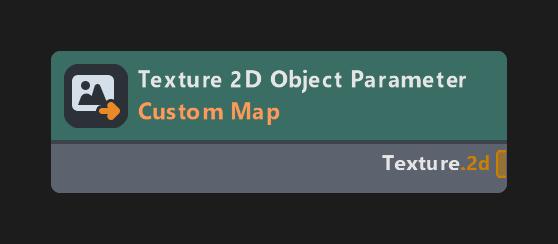 Texture 2D Object Parameter