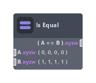 Is Equal