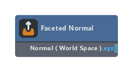 Faceted Normal